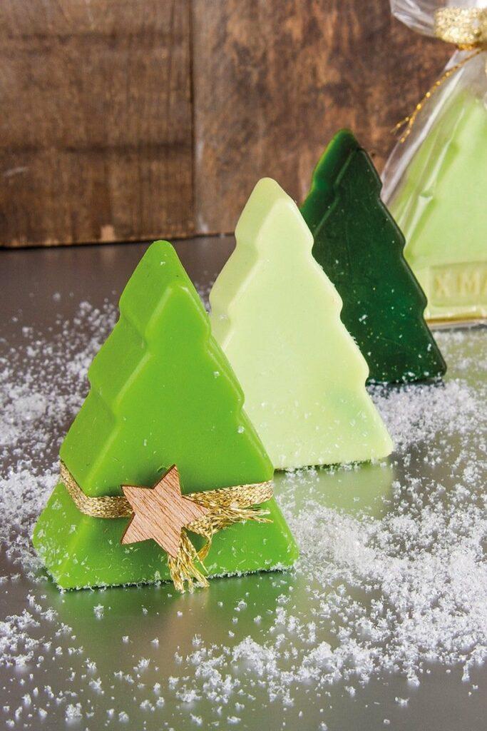 Seifenstücke zur Weihnachtszeit